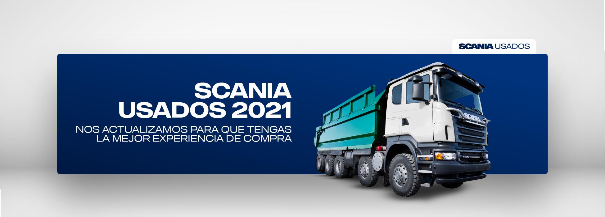 SCANIA USADOS 2021